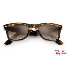 f583811a356 Ray Bans RB4340 Wayfarer Ease with Tortoise frame and Light Brown Gradient  lenses