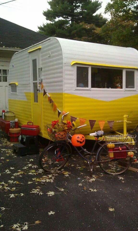 halloween glamping - Halloween Trailers