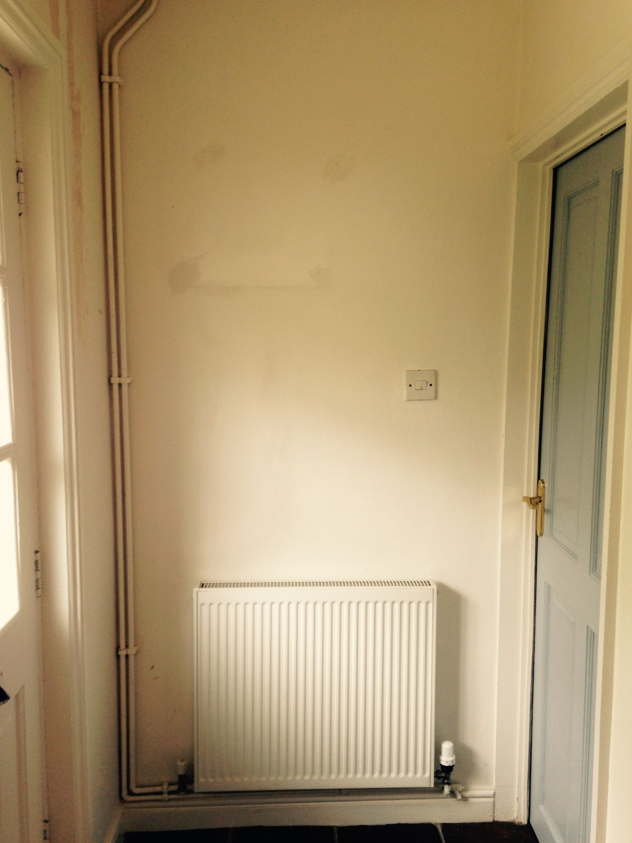 My Tiny Hallway Needs A Focus Point Above The Radiator