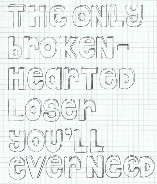Magazines // Brand New Lyrics. The Only Broken-hearted