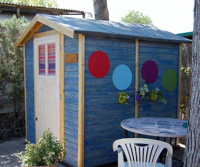 Proyecto casita de jardín para niños Yo quiero una igual! casas