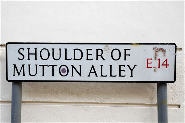 Shoulder Of Mutton Alley, Tower Hamlets, London, England E14..