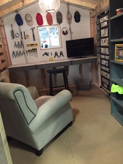 Design A Man Cave Worthy Of A Grunt Man Cave Shed Interior Man