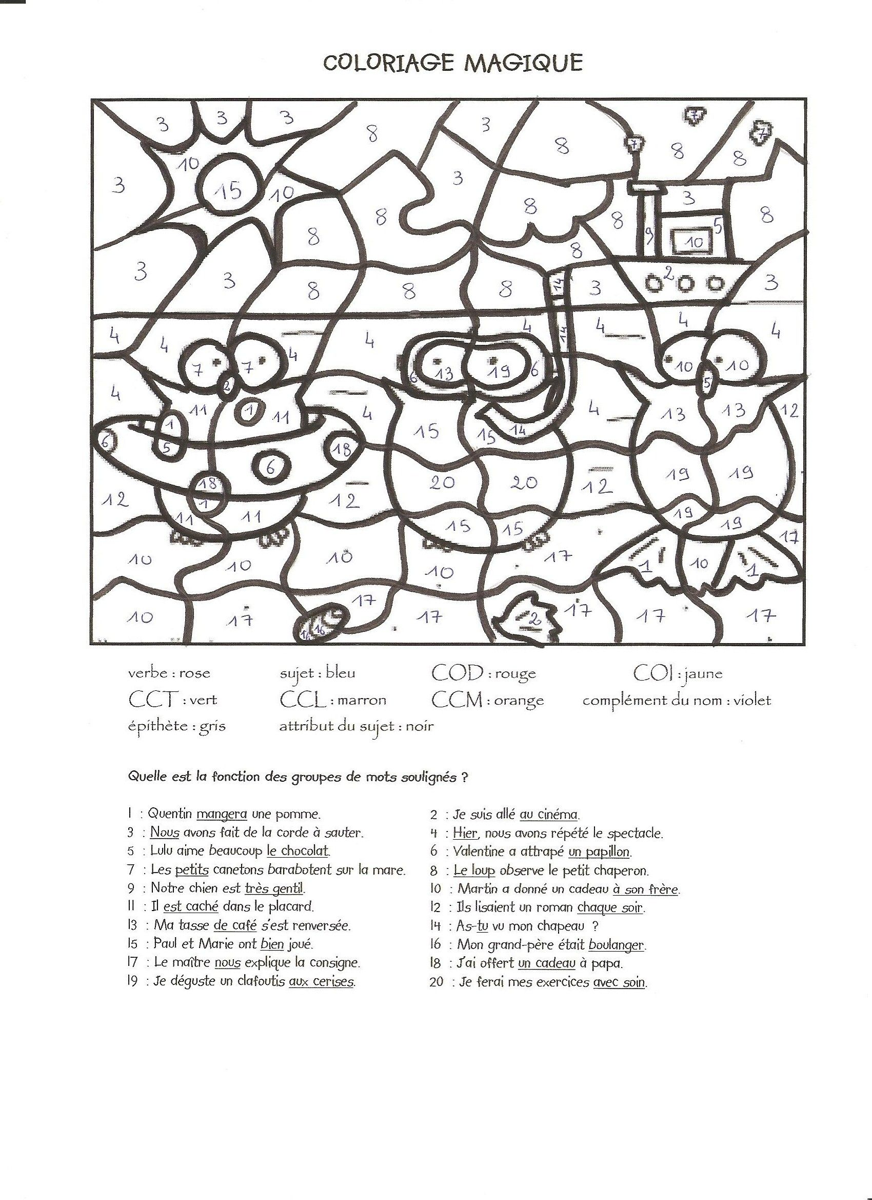 Magic Coloring Pages