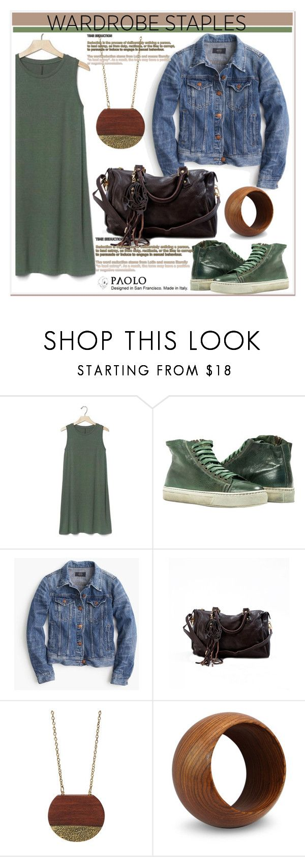 """""""Denim Jackets and PaoloShoes"""" by spenderellastyle ❤ liked on Polyvore featuring Gap, J.Crew, NOVICA, denimjackets and WardrobeStaples"""