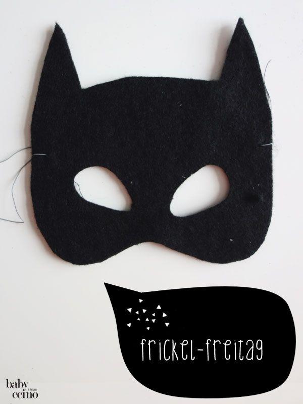 DIY - Batman Karnevals-Kostüm (nachhaltig, upcycling) | Auf eigene ...