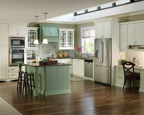 Is Mixing Kitchen Cabinet Finishes Okay Or Not: Light, Bright, Good Mix Of Colors And Texture