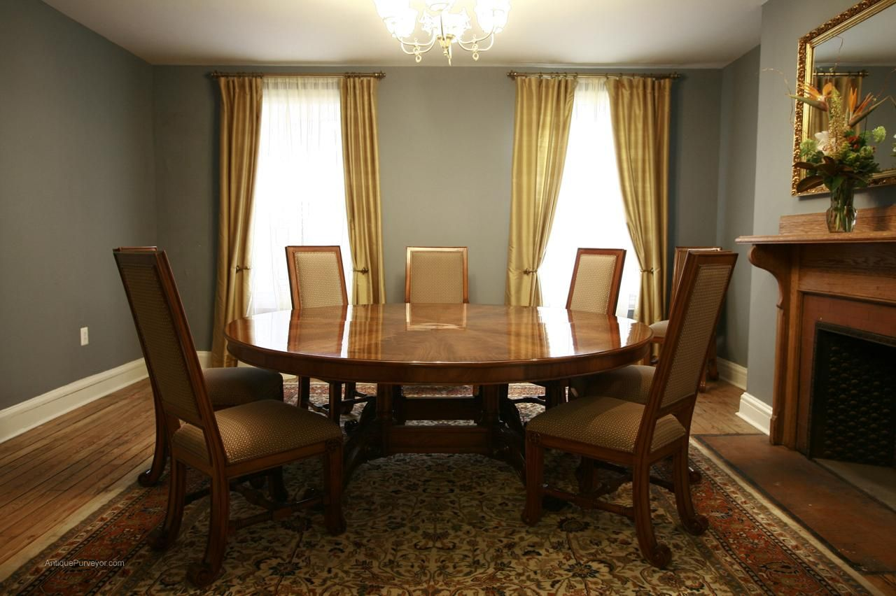 Charmant Large Round Dining Room Tables | Large Round Dining Table Large
