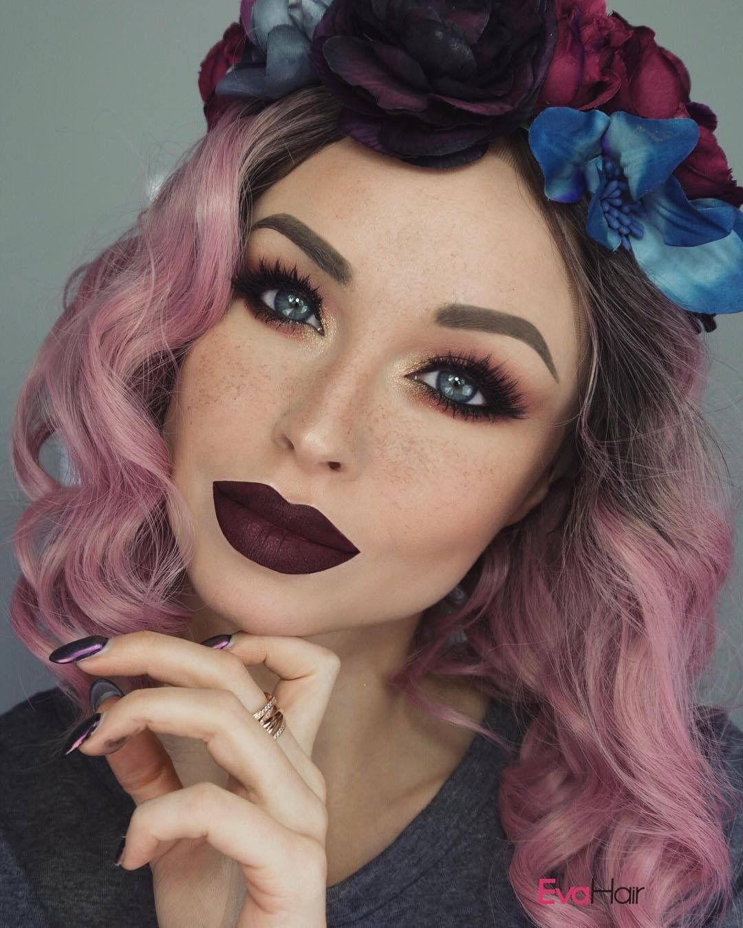 Nose piercing bump pus  Pin by Jess on stuff and whatnot  Pinterest  Pink hair Hair