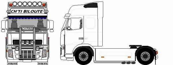 Kleurplaat Scania • Kidkleurplaat.nl