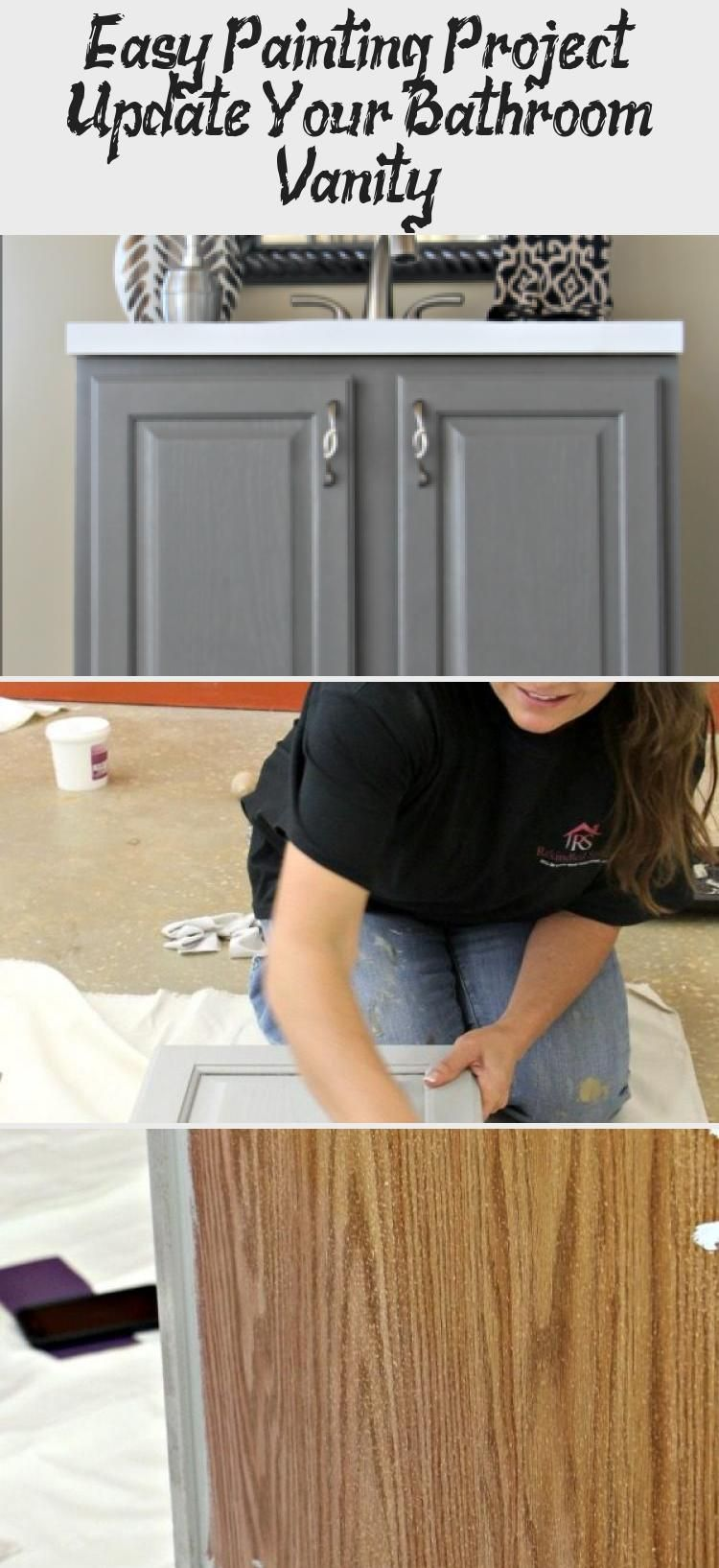 Easy Painting Project Update Your Bathroom Vanity Make