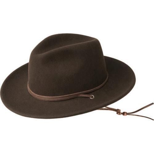 Men's Bailey of Hollywood Rylace 7054 (Brown) (US Men's (Hat 6 3/4-6 7/8))