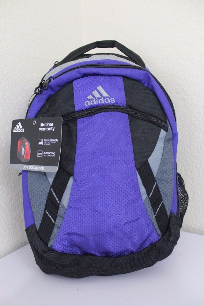 334aab8f5ed adidas jay backpack XL deluxe organization laptop up to 15.4