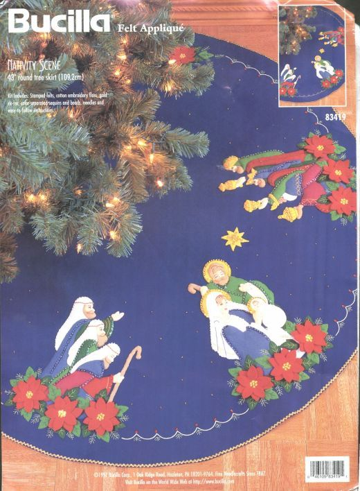 Nativity Christmas Tree Skirts Christmas tree skirts Natal