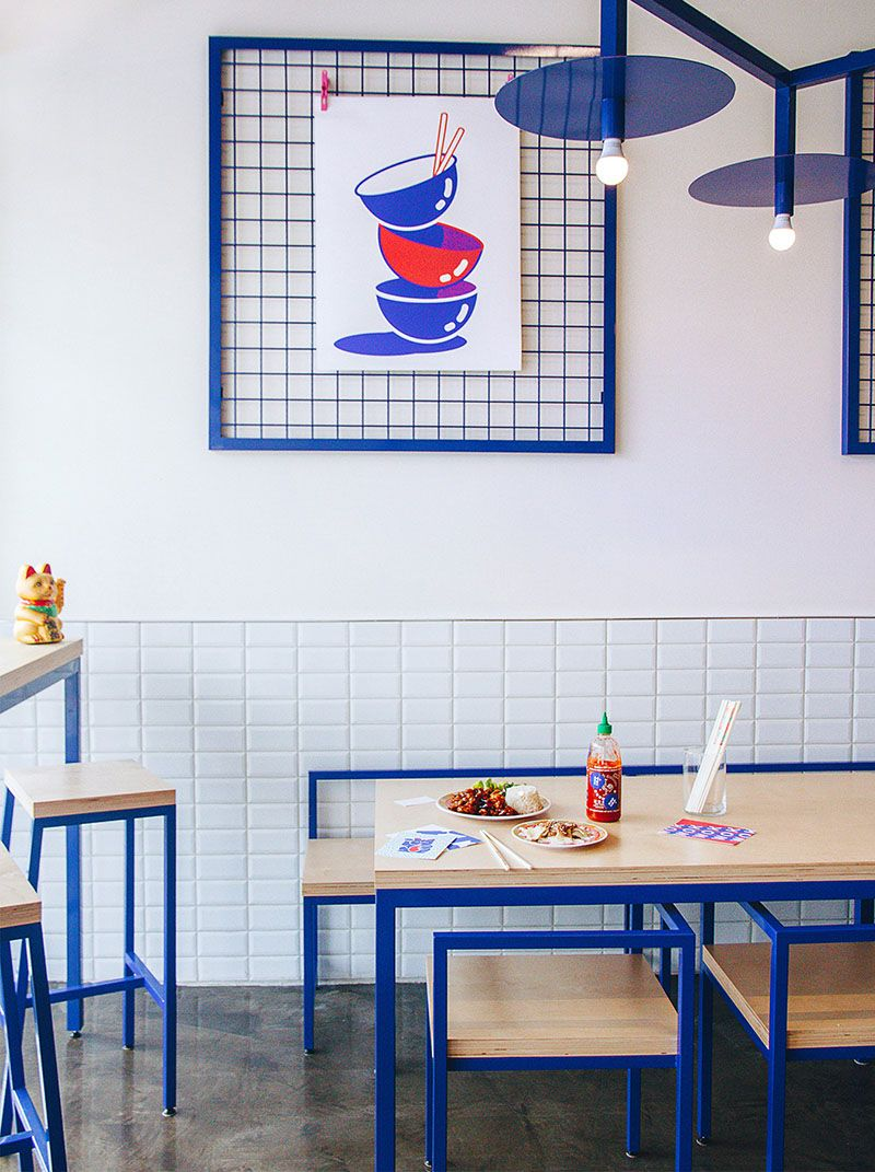 Rainville Sangar Has Collaborated With Studio Beau To Design The Recently Launched Maneki Comptoir Asiat A New Asian Restaurant In Montreal Canada