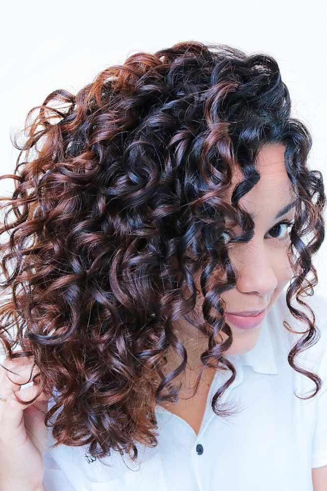 Spiral Perm For Medium Hair Perm Permhair Permhairstyles Spiralperm Medium Hair Medium In 2020 Curly Hair Photos Permed Hairstyles Medium Curly Hair Styles