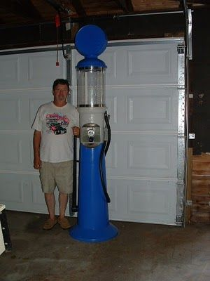 Build Your Own Antique Gas Pump Replica The Ford Barn Vintage Gas Pumps Gas Pumps Pumps
