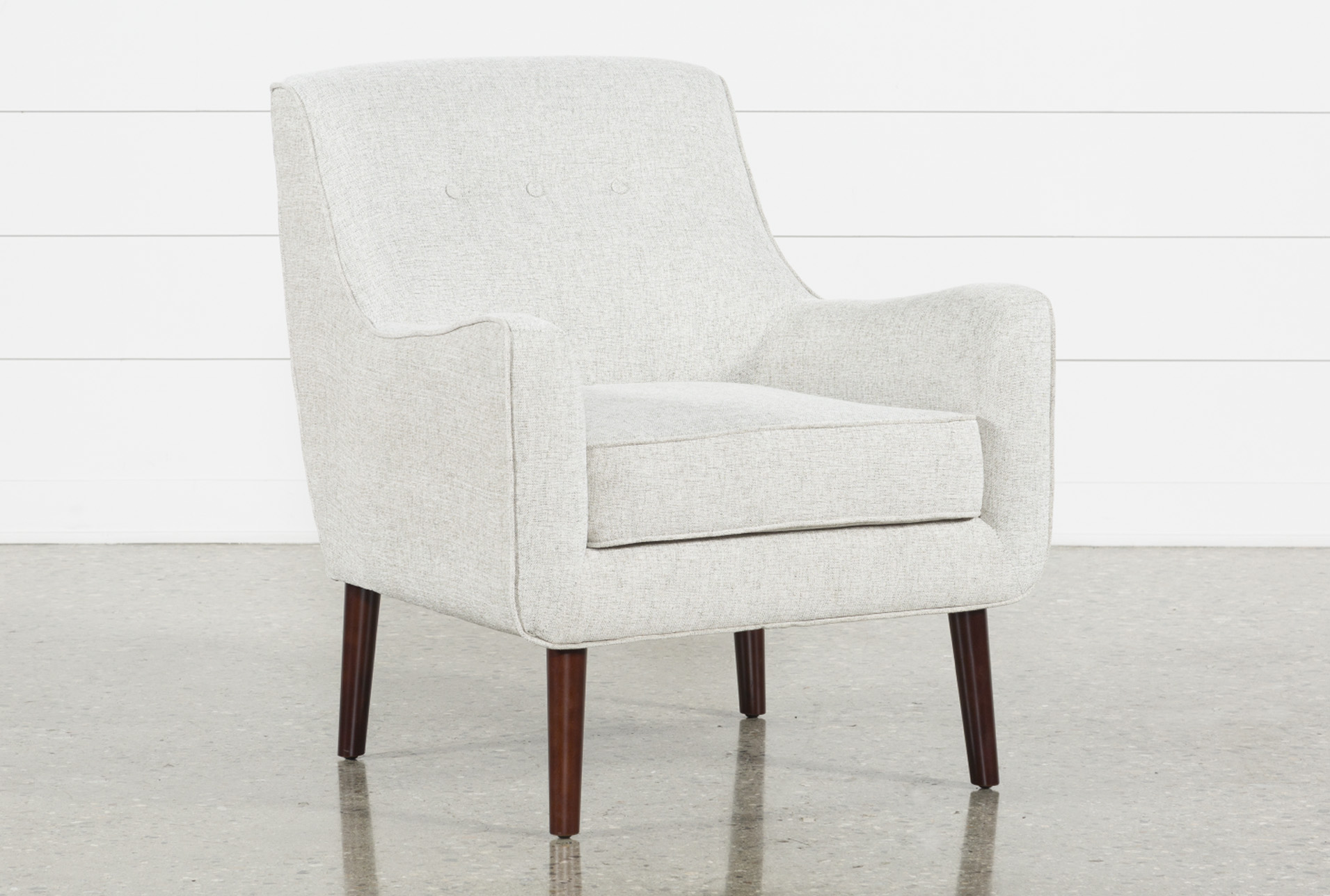 Best Kendra Beige Accent Chair Accent Chairs Most 400 x 300