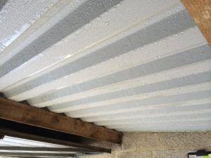 Corrugated Metal Roof Condensation Tejado