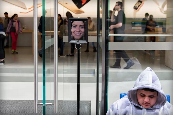An iPad is waiting in line to buy the new iPhone 6S.WELCOME TO THE WORLD WE LIVE IN.