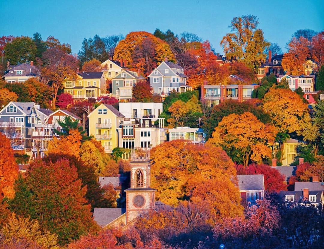 Providence In The Fall Seasons Fall Pinterest Rhode Island