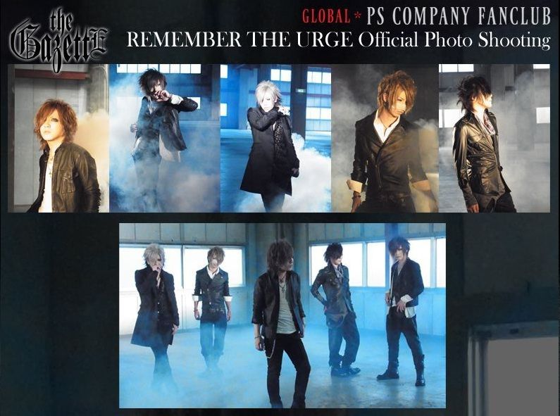 REMEMBER THE URGE Official Photo Shooting
