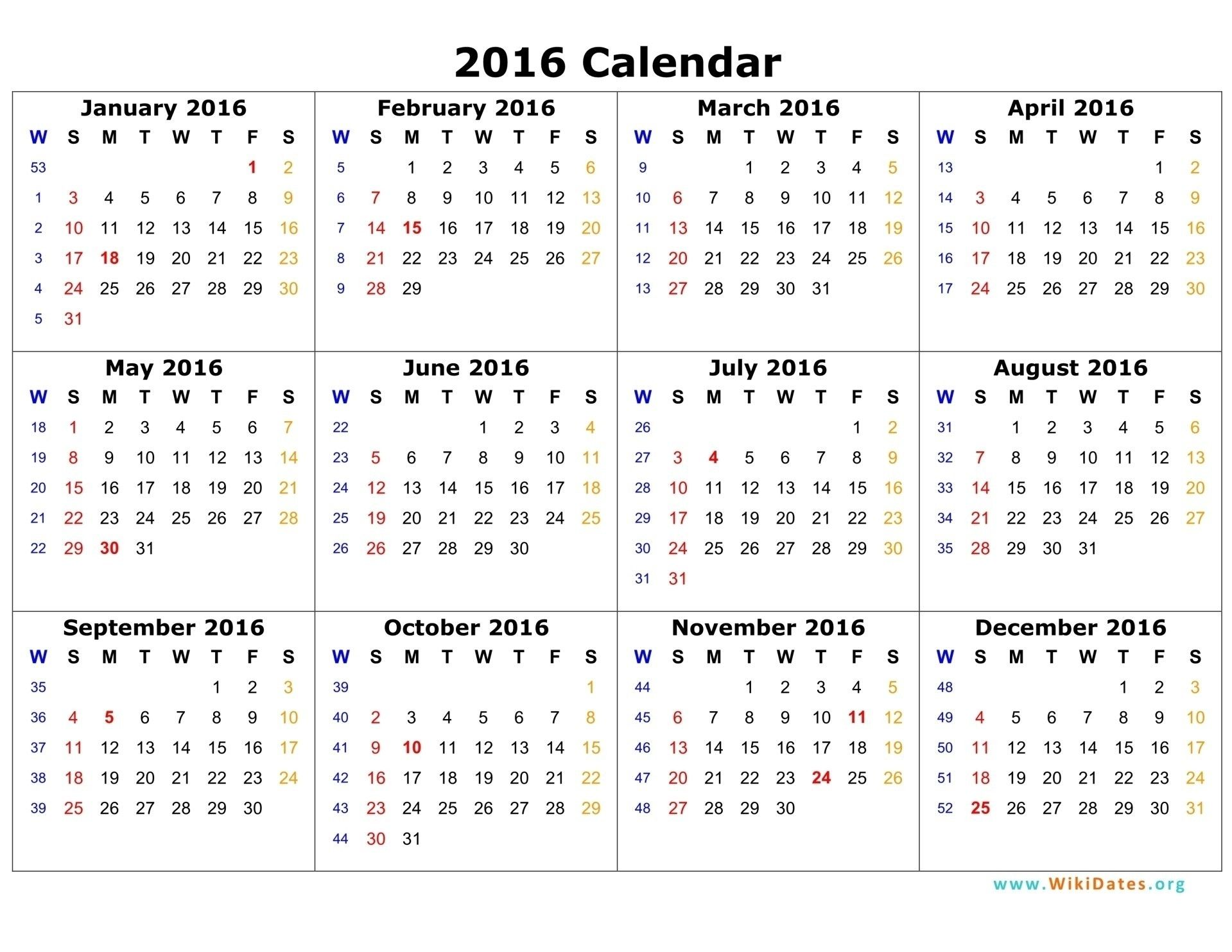 Date And Time Calendar 2021 Year Calendar Time And Date in 2020 | 12 month calendar printable