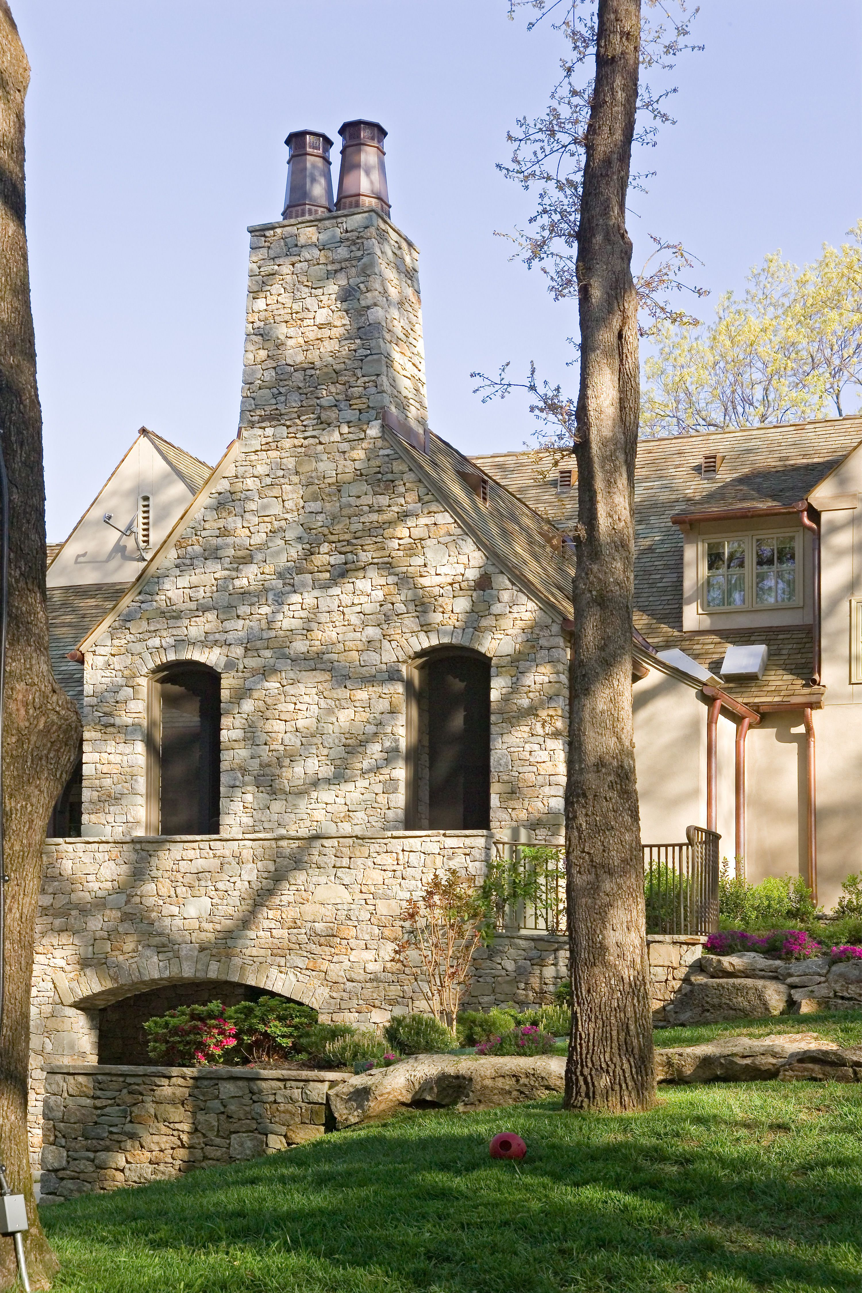 Jack Arnold Custom Home Design Traditional Exterior French Style Homes Farmhouse Exterior