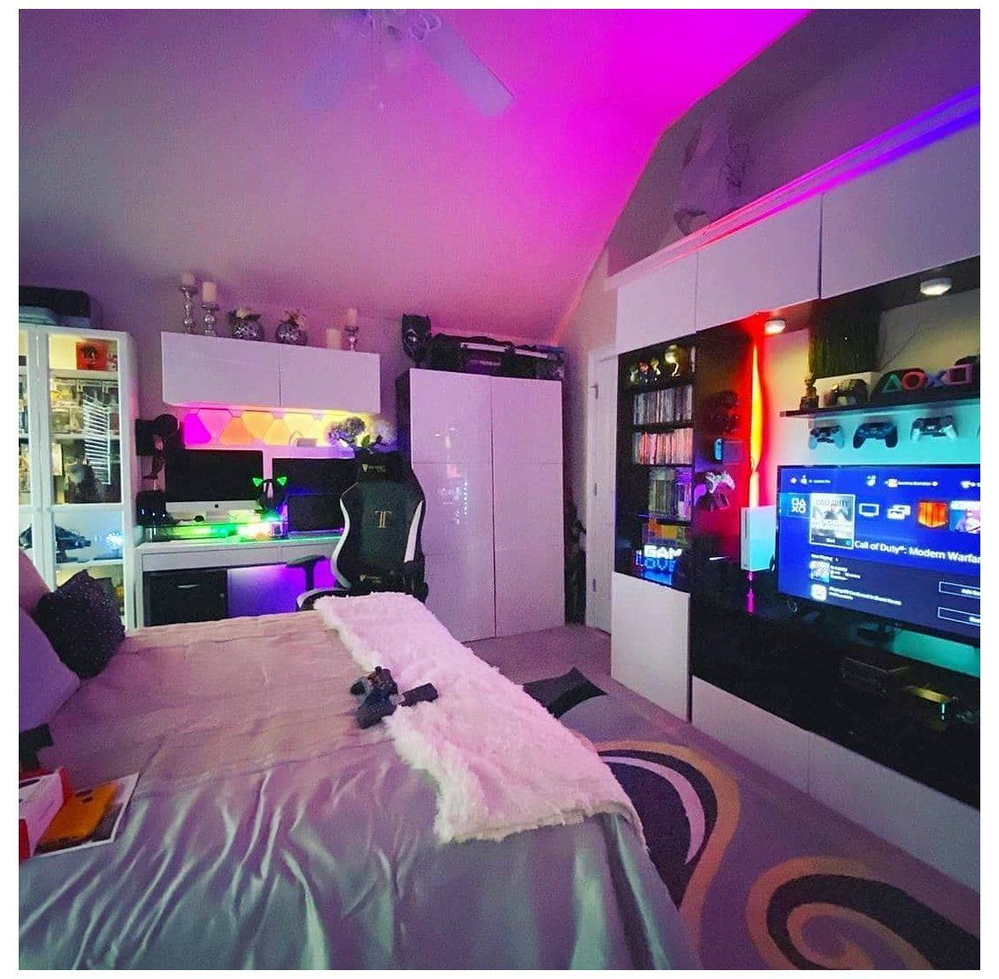 Gaming Store Gamer Girl Room Bedrooms Gamergirlroombedrooms Gamer Room Decor Gamer Bedroom Cool Bedrooms For Boys