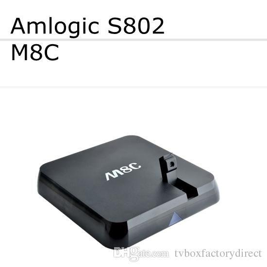 Quad Core Tv Box M8 M8c Tv Box Amlogic S802 Quad Core Xbmc Gotham