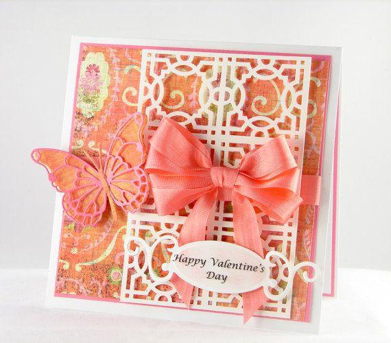 Handmade Valentine Card by TheresaCalderini on Etsy 550