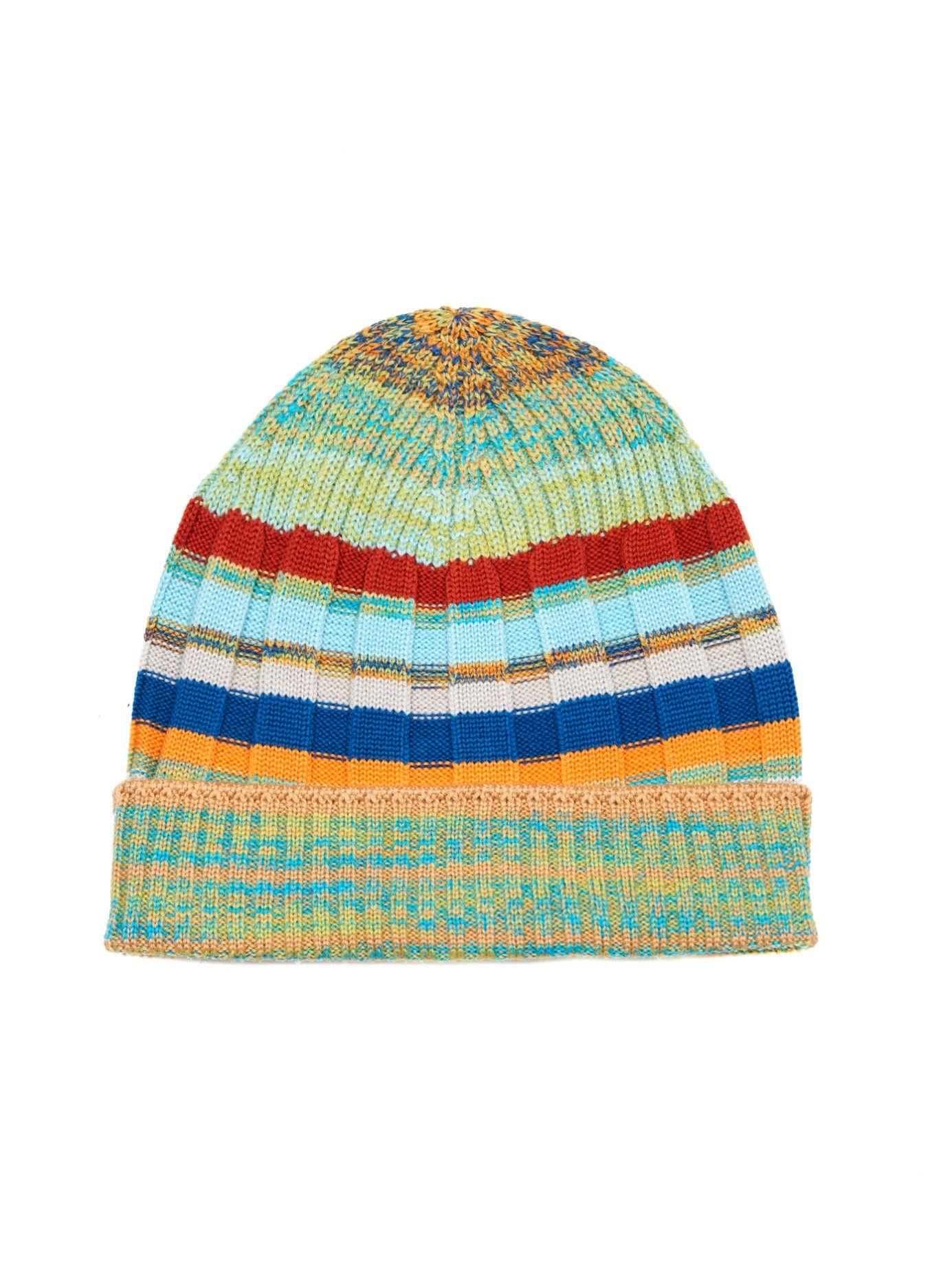 236202c1e Striped ribbed-knit beanie hat | Missoni | MATCHESFASHION.COM US ...