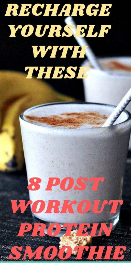 8 post workout protein smoothie recipes for weight loss -   16 healthy recipes For Weight Loss protein ideas
