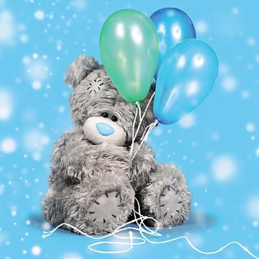 Happy 21st Birthday Me To You Tatty Teddy 3D Holographic Card