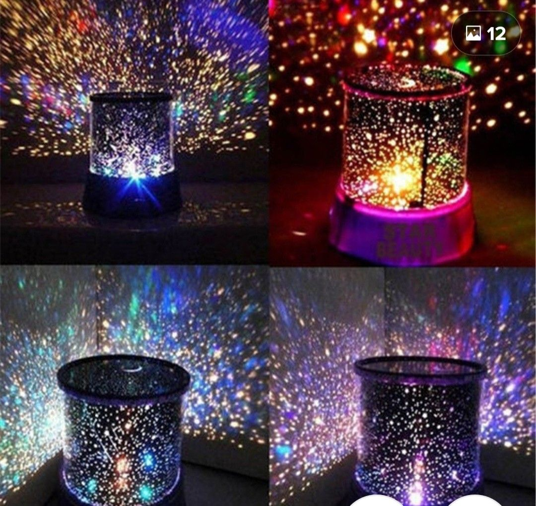 Star Projector Light Image By Kim Robinson On Wedding Decorations Starry Night Light Night Light Projector