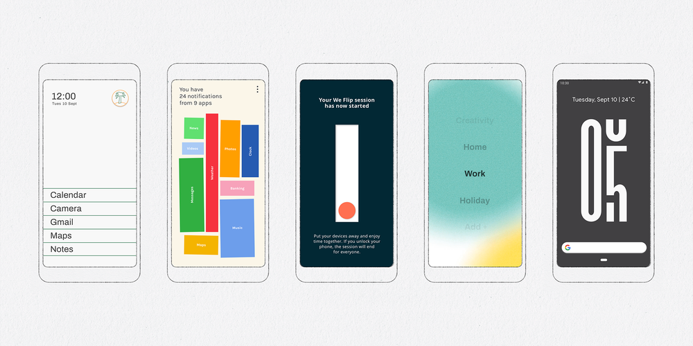 Google launches 5 experimental digital wellbeing apps for