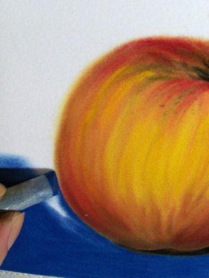Apfel In Pastell Schritt Fur Schritt Anleitung Monika Kunze