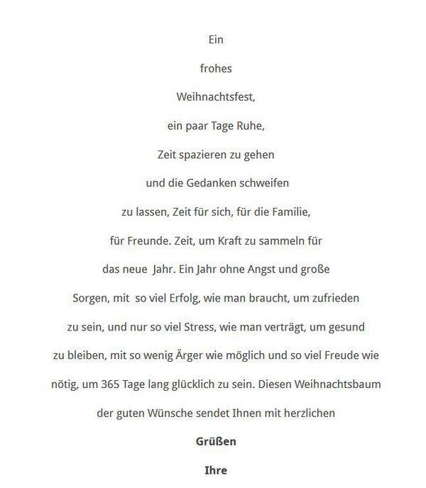 Ein besonderer Weihnachtsbaum #textefürweihnachtskarten