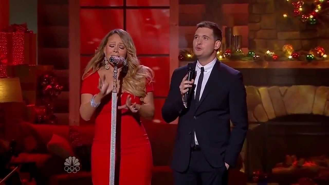 Mariah Carey Michael Buble All I Want For Christmas Is You Christma Michael Buble Mariah Carey Mariah