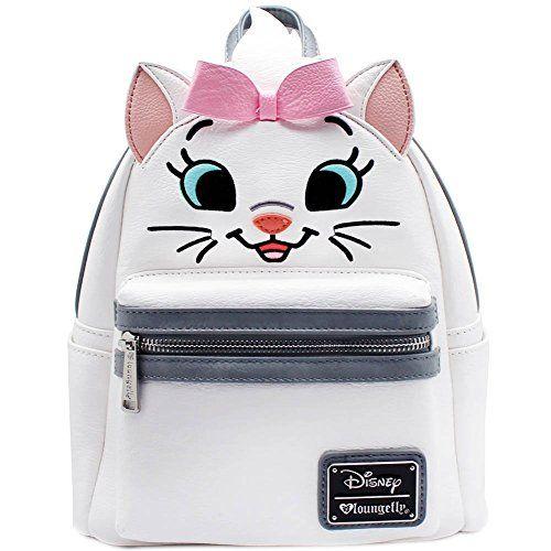 1ca82e42a6a2 Disney Discovery- Loungefly X Disney Aristocats Marie Big Face Mini  Festival Backpack