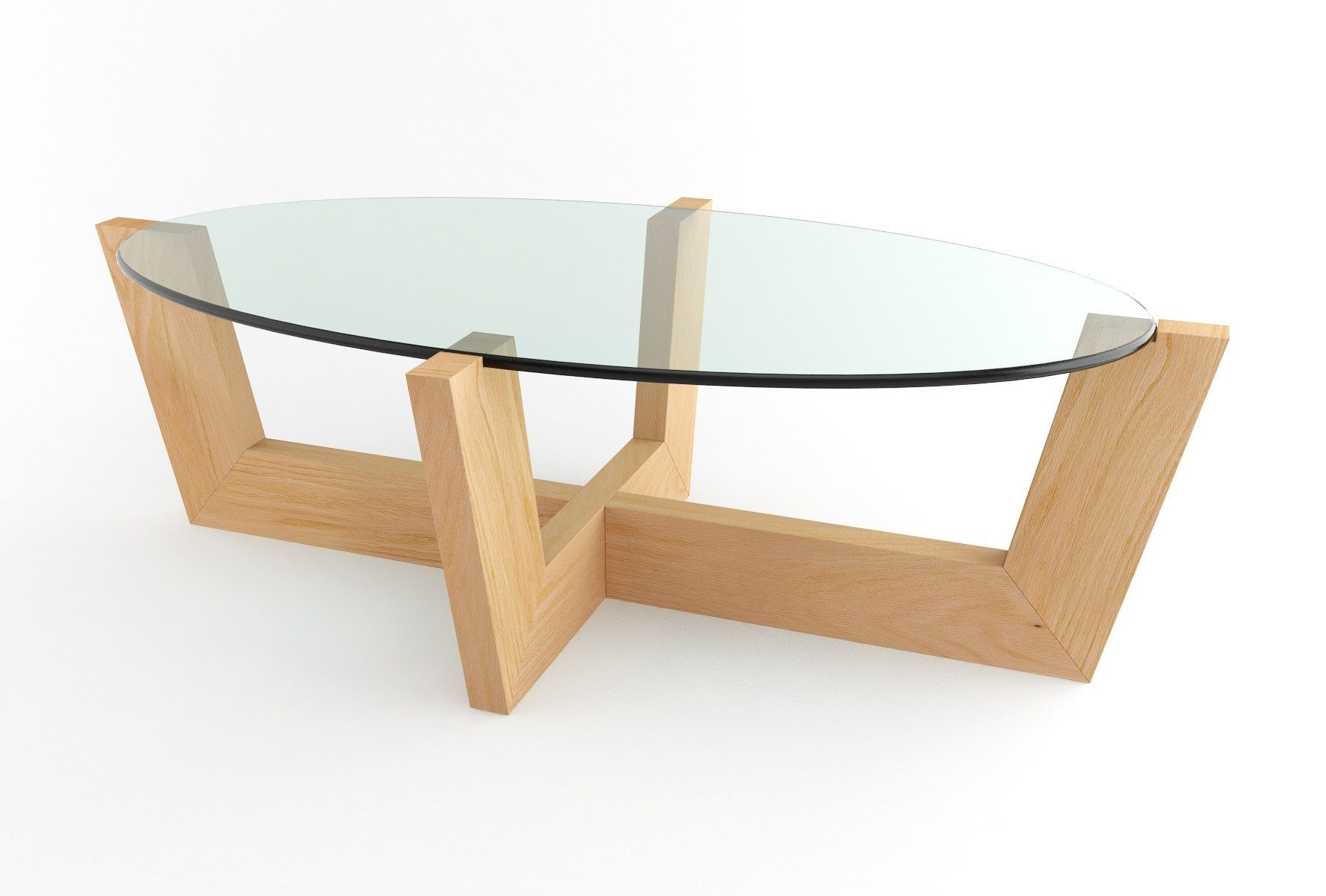 Creative Minimalist Small Oval Coffee Table For Living Room Small