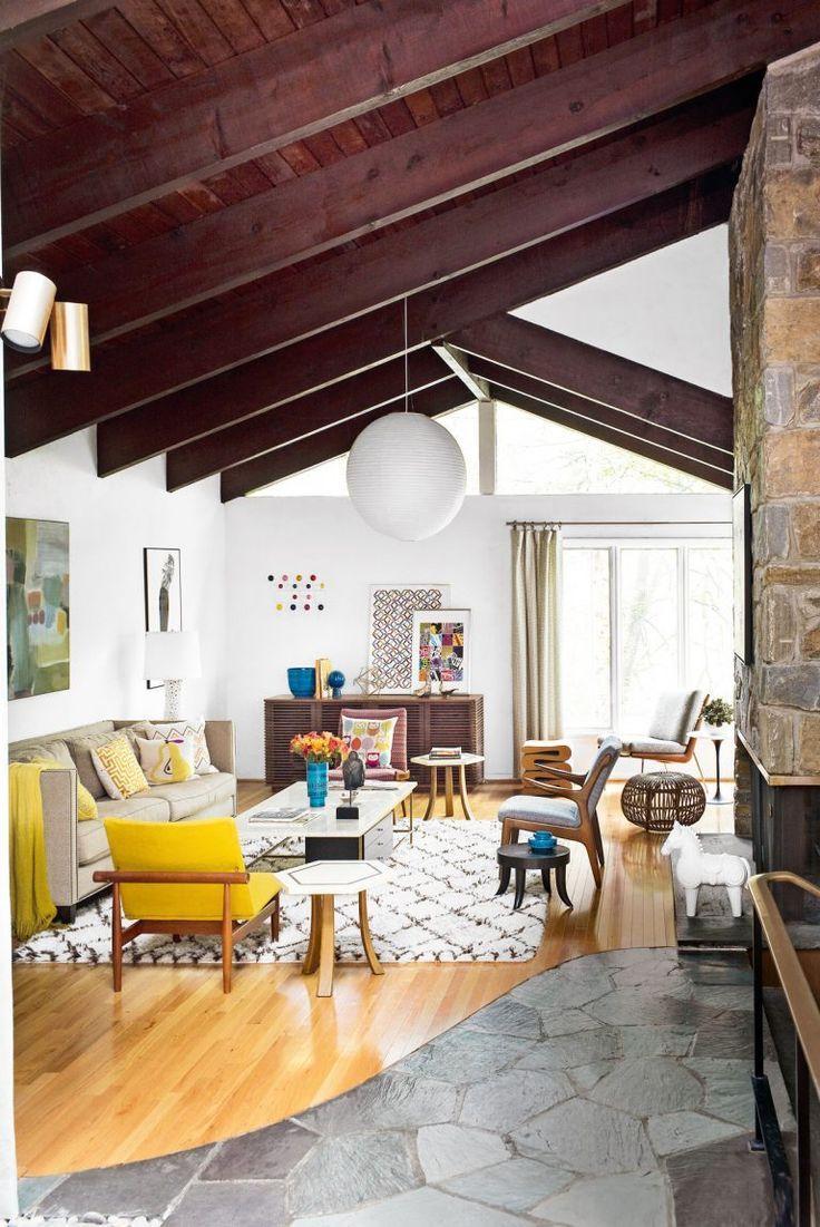 step inside this mid century modern home of don draper s dreams rh pinterest com