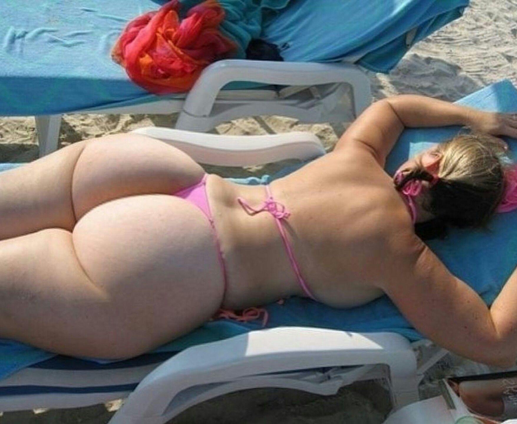 толстые в бикини раком можете