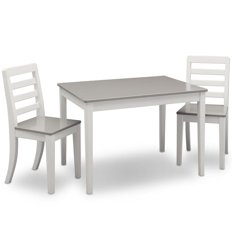 Lebanon Kids 3 Piece Writing Table And Chair Set Table And Chair Sets Kids Table And Chairs Table And Chairs
