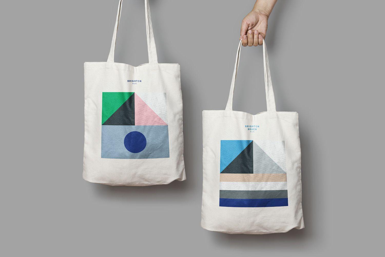 Download New Logo Brand Identity For Brighton Elc By Studio Brave Bp O Tote Bag Design Logo Branding Identity Tote