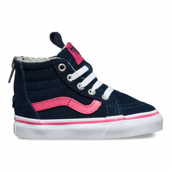 pink high top vans uk