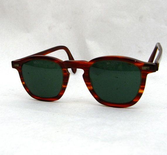 Vintage 50s Ray Ban Like Safety Glasses Sunglasses Willson Eye Glasses Frames Vintage Eyewear Vintage Sunglasses