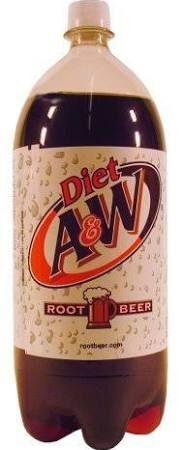 Diet A W Root Beer 2 Liter Root Beer A W Root Beer Diet Root Beer
