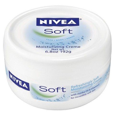 Nivea Soft Moisturizing Creme Body Face And Hand Cream 6 8oz