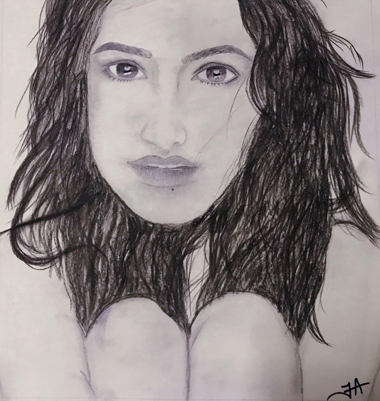 Shraddha kapoor pencil sketch by farheen ansari | Sketches ...